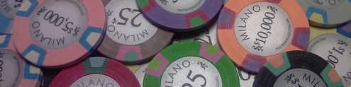 Milano Poker Chips and Sets