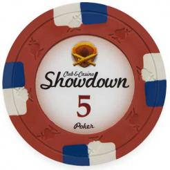 13.5g Showdown Clay Poker Chips
