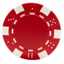 11.5 gram Striped Dice Poker Chips