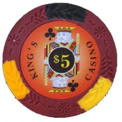 14 gram Kings Casino Clay Poker Chips
