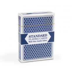 Standard Plastic Coated Paper Playing Cards