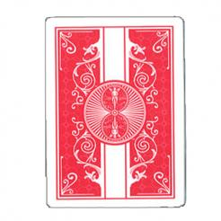 red prestige plastic bicycle playing cards