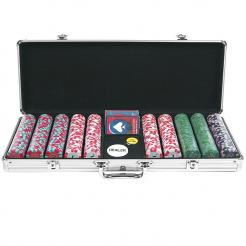 500 nexgen pro poker chip set in an aluminum case
