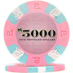 bundle of 25 pink nexgen pro poker chips
