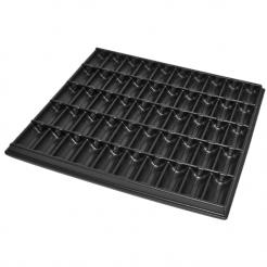 1000 chip tray helps organize chips for tournaments and games.