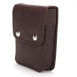 Single Deck Leather Playing Card Case