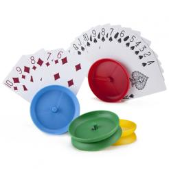 Circle Shaped Playing Card Holders