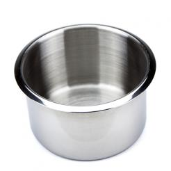 Large Stainless Steel Poker Table Cup Holder