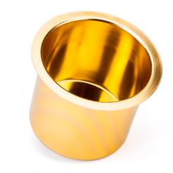 Gold Aluminum Poker Table Cup Holder