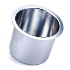 Silver Aluminum Cup Holder