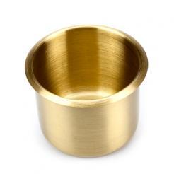 Brass Poker Table Cup Holder