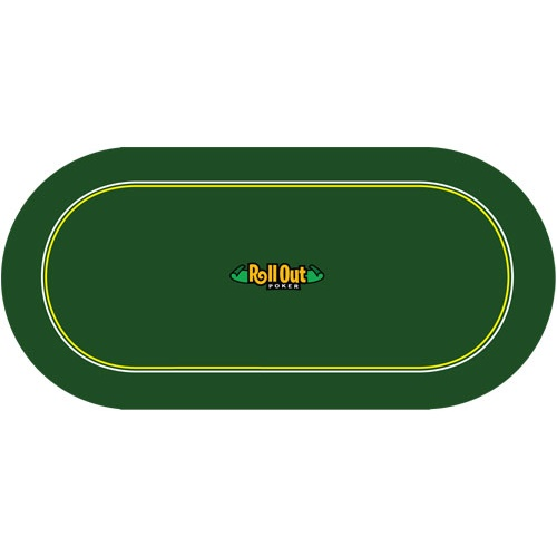 Delightful 70 Roll Out Poker Table Top. Back To List