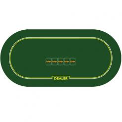 Roll Out Poker Table Top w/ Dealer