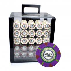 1000 The Mint Poker Chip Carrier Set