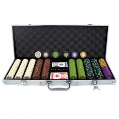 500 the mint casino poker chip set in an aluminum case