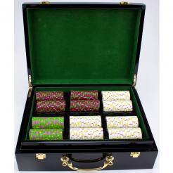 500 The Mint Poker Chip Set in a Humidor Case