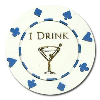 25 Drink Tokens