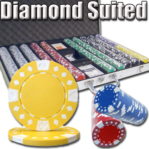 diamond poker chips
