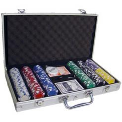 300 Diamond Suited Poker Chip Set