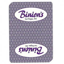 Used Binion's Casino Playing Cards