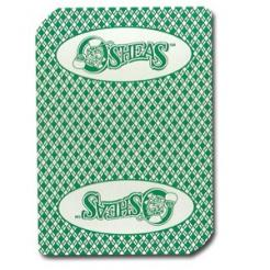 Used O'Shea's Casino Playing Cards