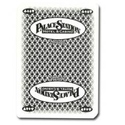 Used Palace Station Casino Playing Cards