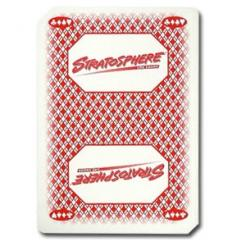 Used Stratosphere Casino Playing Cards
