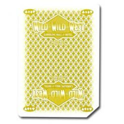 Used Wild Wild West Casino Playing Cards