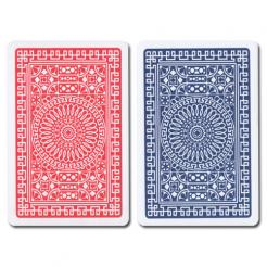 Blue/Red Club Modiano Playing Cards