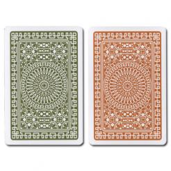 Green/Brown Club Modiano Playing Cards