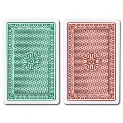 Beehive Modiano Playing Cards Green/Brown
