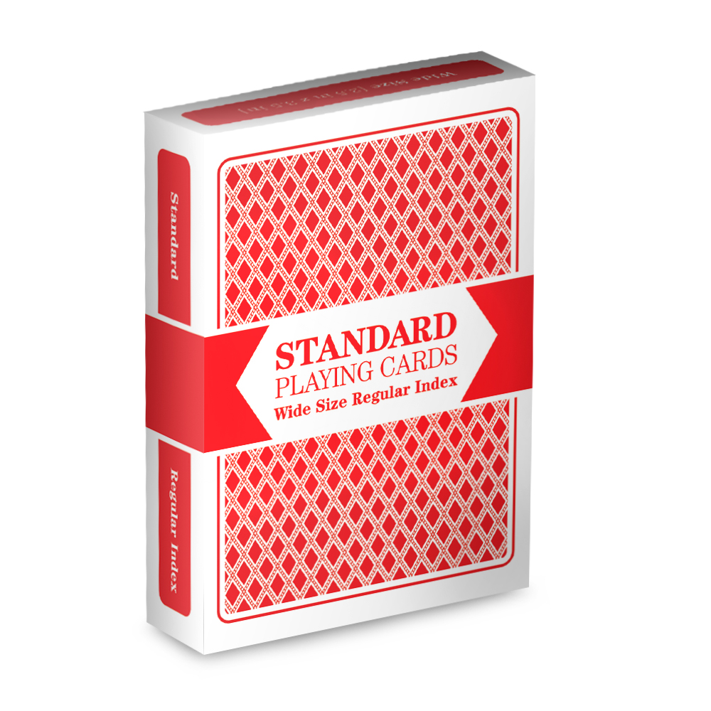 Red Standard Playing Cards
