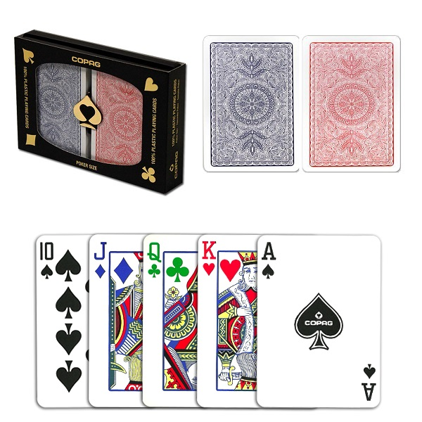 Poker card colors