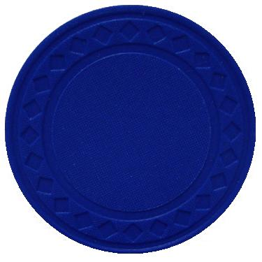 25 Blue Super Diamond Poker Chips 10 1010blu