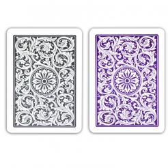 Purple and Gray copag playing cards