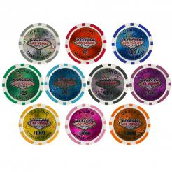 600 Bulk Las Vegas Casino poker chips