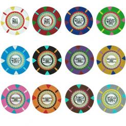 600 Bulk Mint Poker Chips