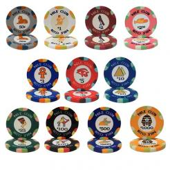 1000 bulk nile club poker chips