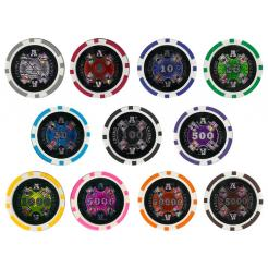 Bulk Ace Casino poker chips