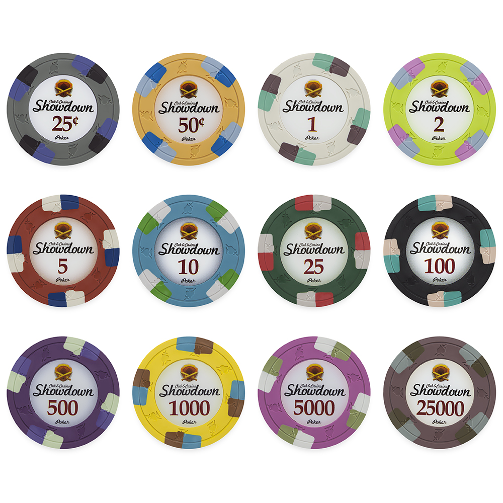 Bulk Showdown Poker Chips Cpsd Bulk Poker Chip Mania