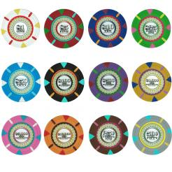 Bulk The Mint poker chips in quantities of 5000 chips or more