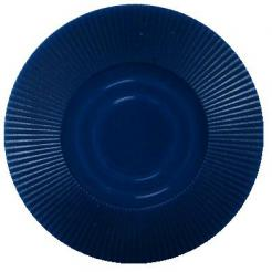 Bundle of 25 dark blue interlocking poker chips