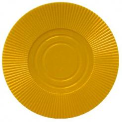 Bundle of 25 yellow interlocking poker chips