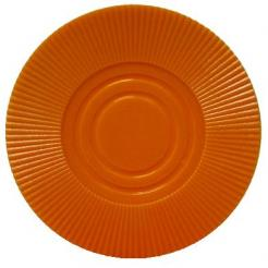 Bundle of 25 orange interlocking poker chips