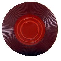Bundle of 25 maroon interlocking poker chips