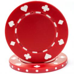 bundle of 25 poker chips