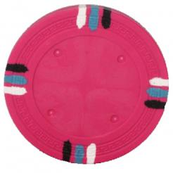 bundle of 25 Pink 12 stripe poker chips