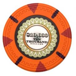 bundle of 25 orange the mint poker chips