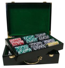 500 Eclipse Poker Chip Set in a Humidor Style Case