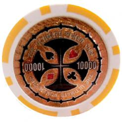 Bundle of 25 orange ultimate poker chips